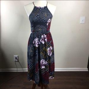 Gorgeous floral shift dress
